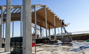 Neubau einer landw. Mehrzweckhalle mit Heutrocknungsanalge