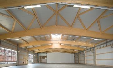 Neubau einer Werkhalle in Dinkelscherben