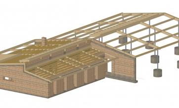Neubau eines Wohnhauses mit Carport