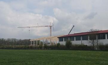 Neubau Lagerhalle in Türkheim
