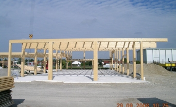 Neubau einer Austellungshalle